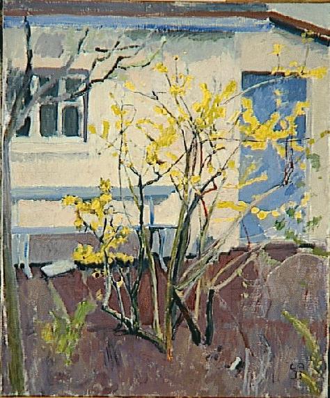 Куно Амье. Желтый куст
