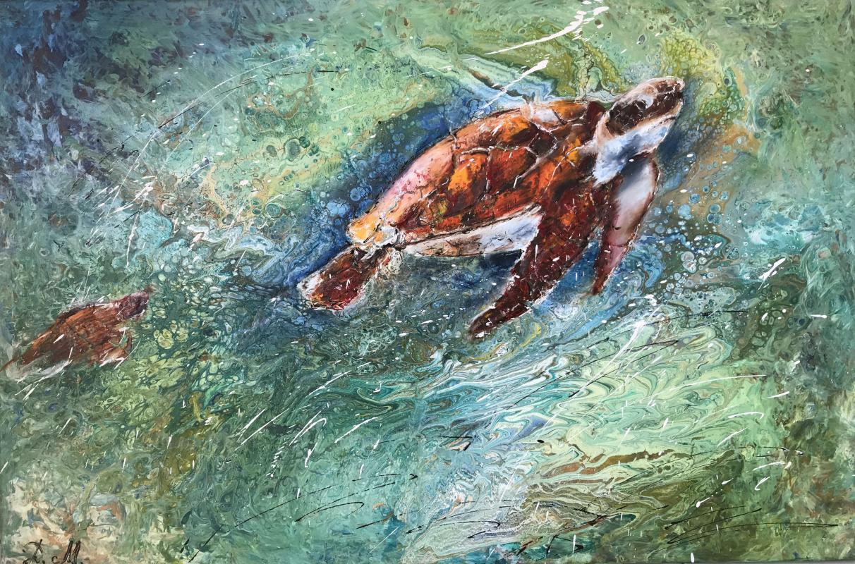 Диана Владимировна Маливани. The Sea Turtles