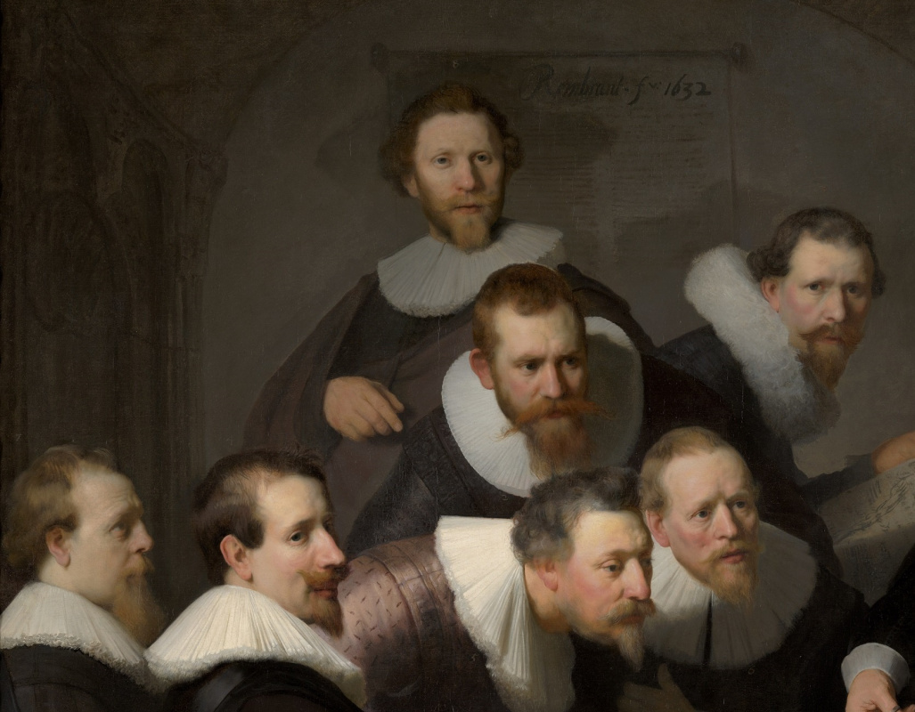 The anatomy lesson of Dr. Nicolaes Tulp by Rembrandt Harmenszoon van ...