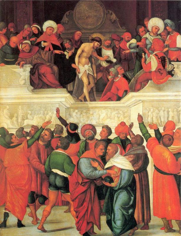 Людовико Маццолино. Христос