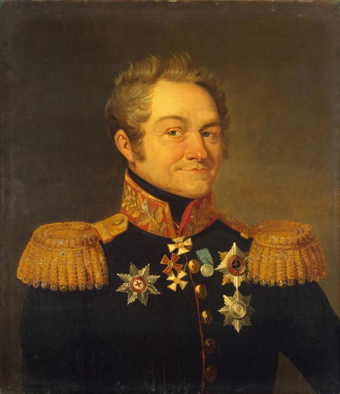 Томас Доу. Портрет Александра Борисовича Фока