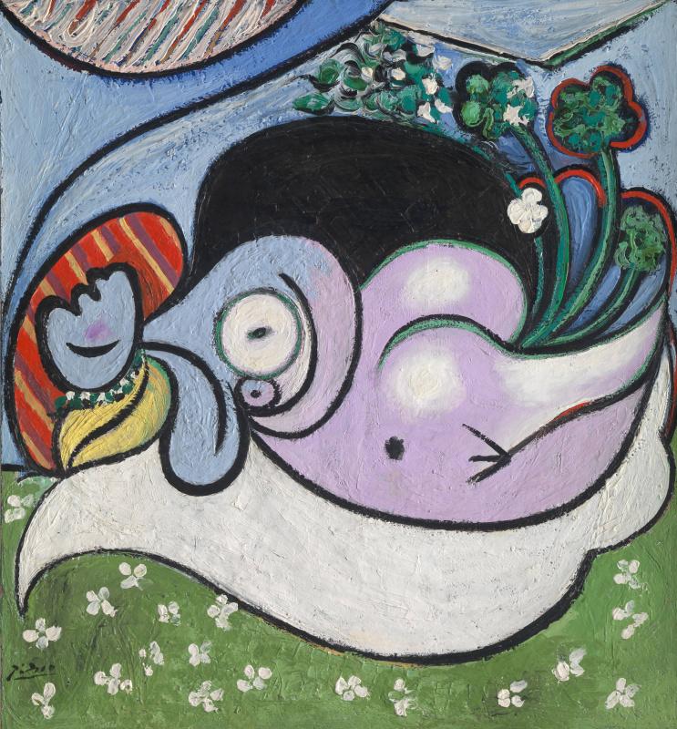 Пабло Пикассо. Мечтательница