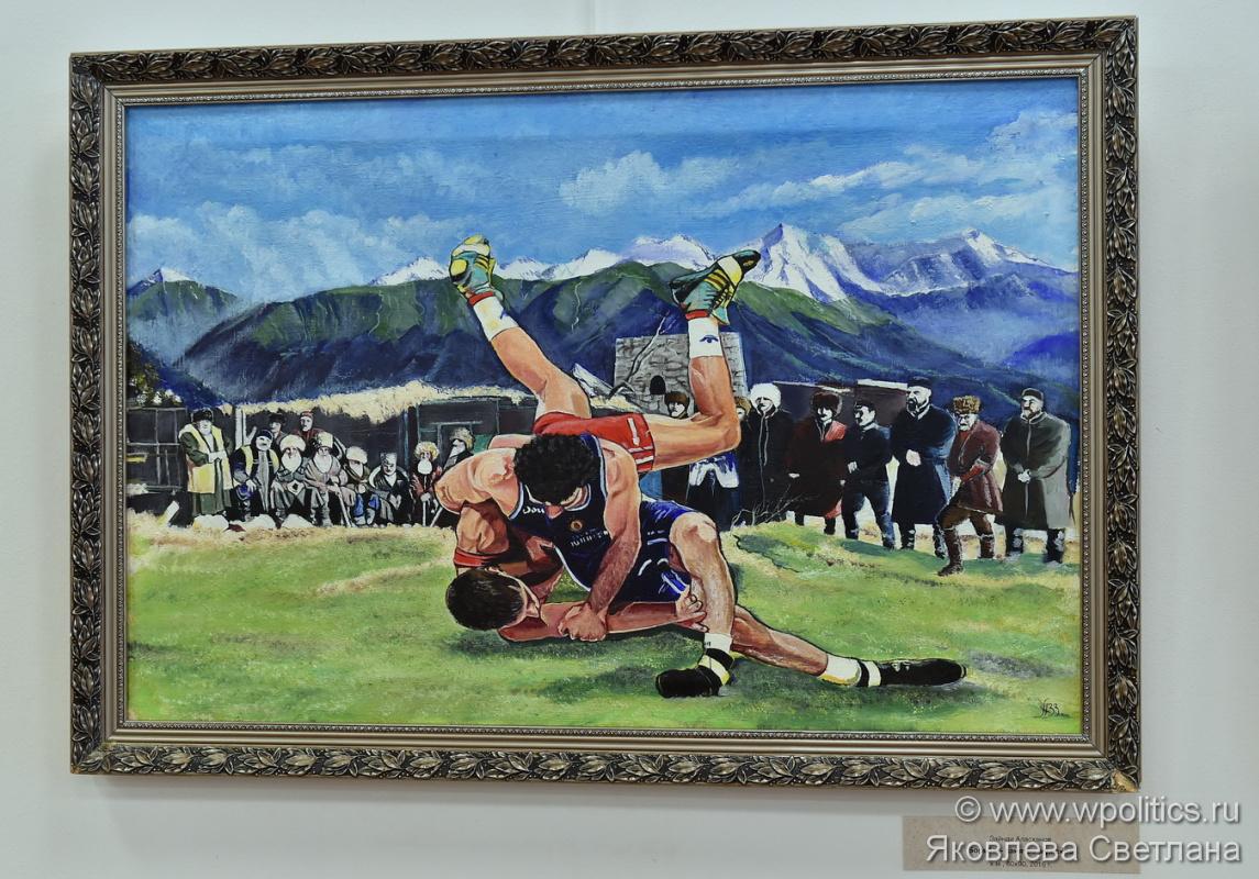 Alaskhanov. Wrestlers