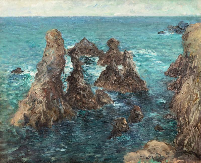 Konstantin Pavlovich Kuznetsov. Belle-Ile Island