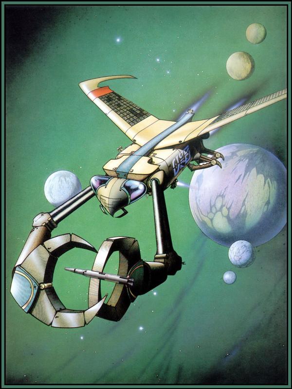 Родни Мэтьюз. Космический корабль