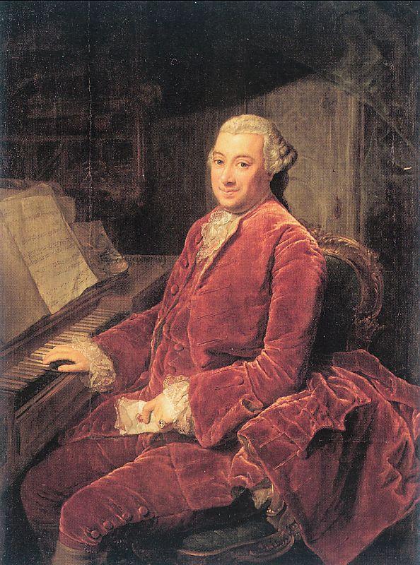Georg David Mathieu. Musician