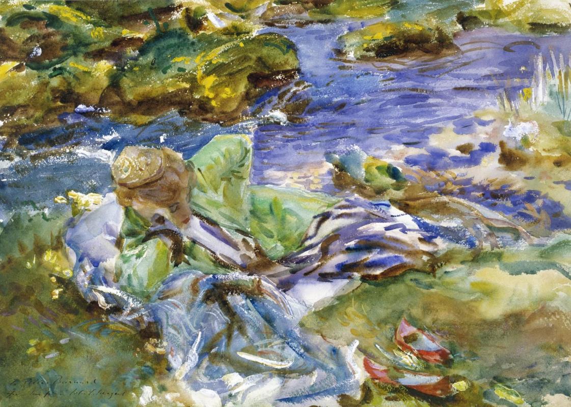 John Singer Sargent. Turk at the Creek