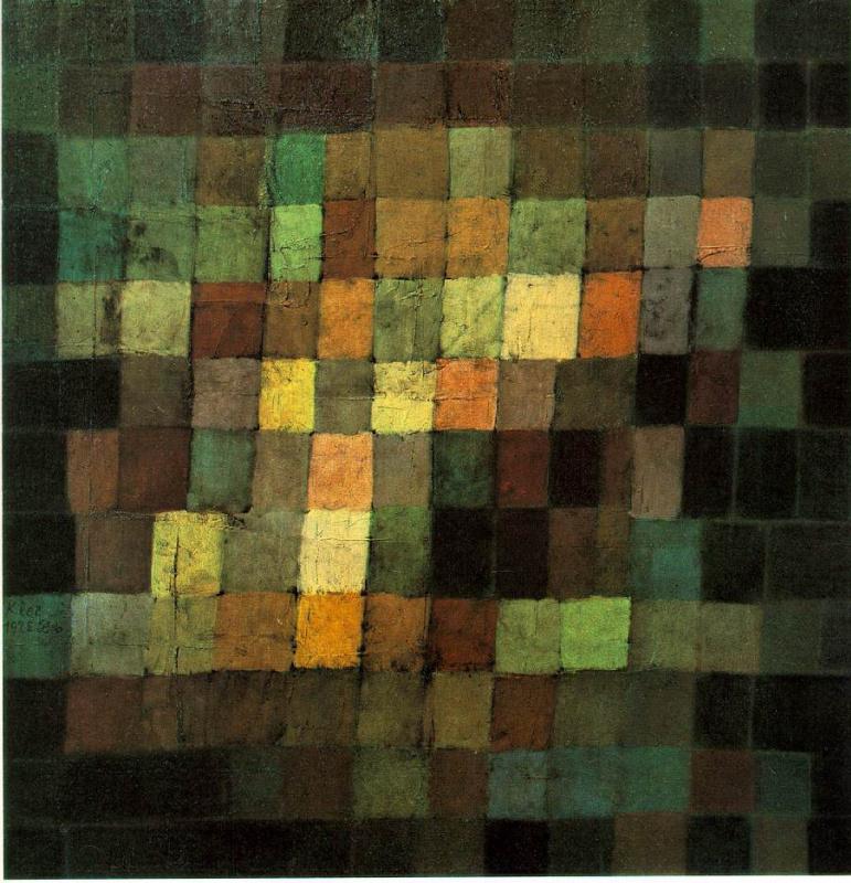 Paul Klee. Ancient sound