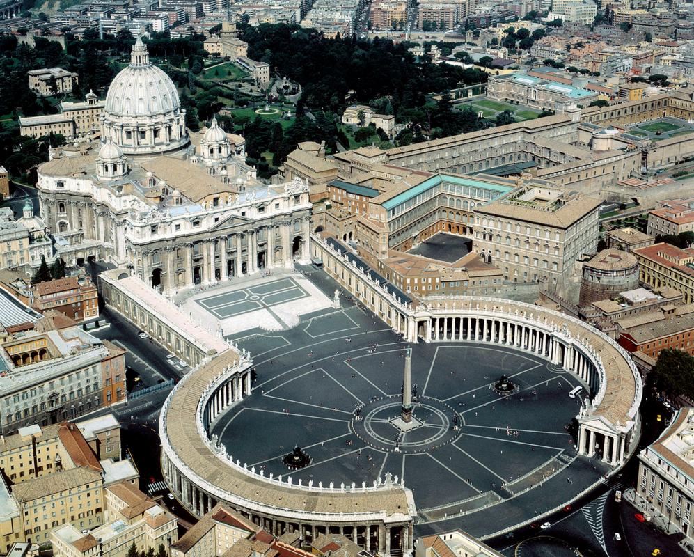 Джованни Лоренцо Бернини. Площадь Святого Петра