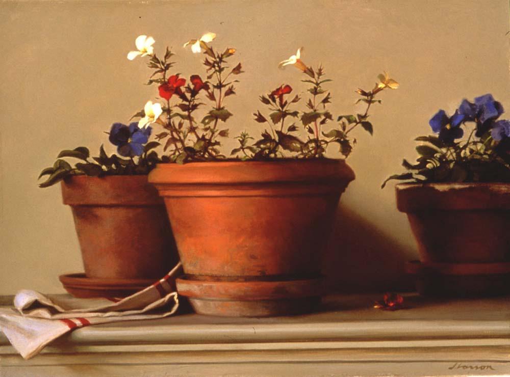 Джеффри Ларсон. Цветы в горшках