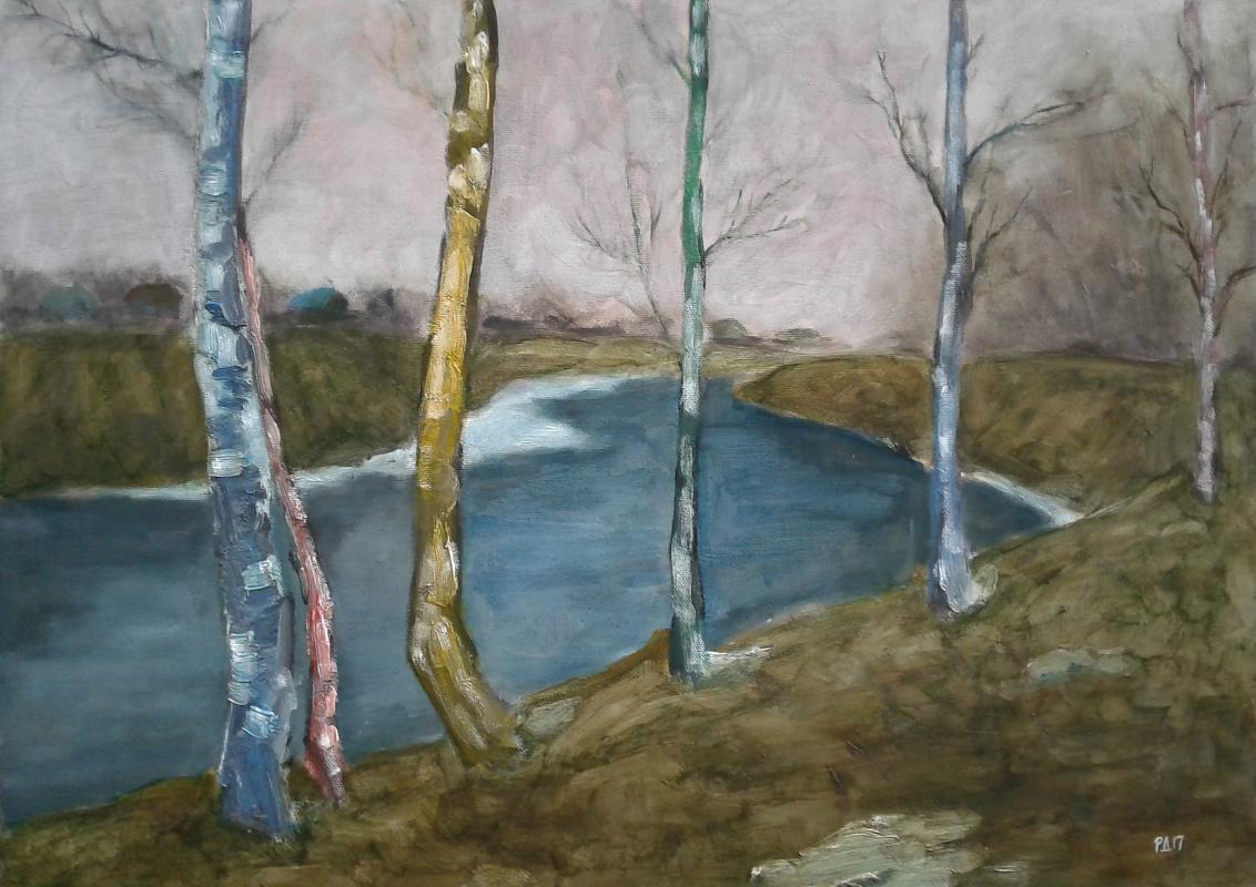 Denis Grigorievich Rusakov. Spring Festival (Birch)