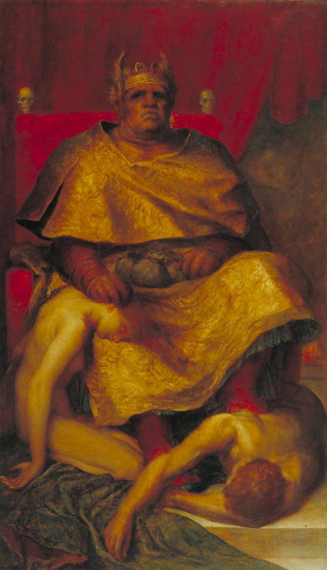 George Frederick Watts. Mammon