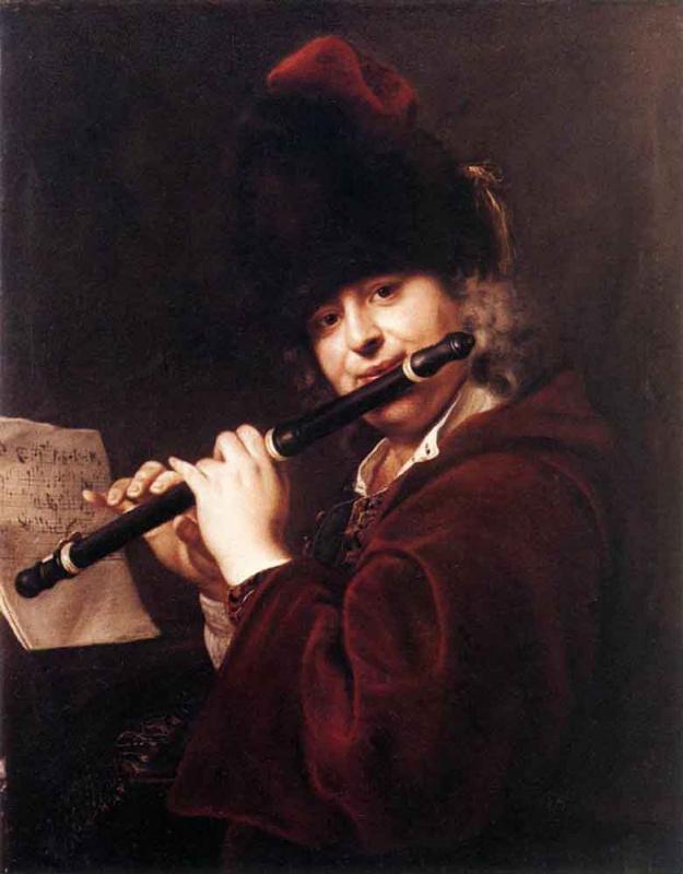 Иоганн Купецкий. Портрет музыканта