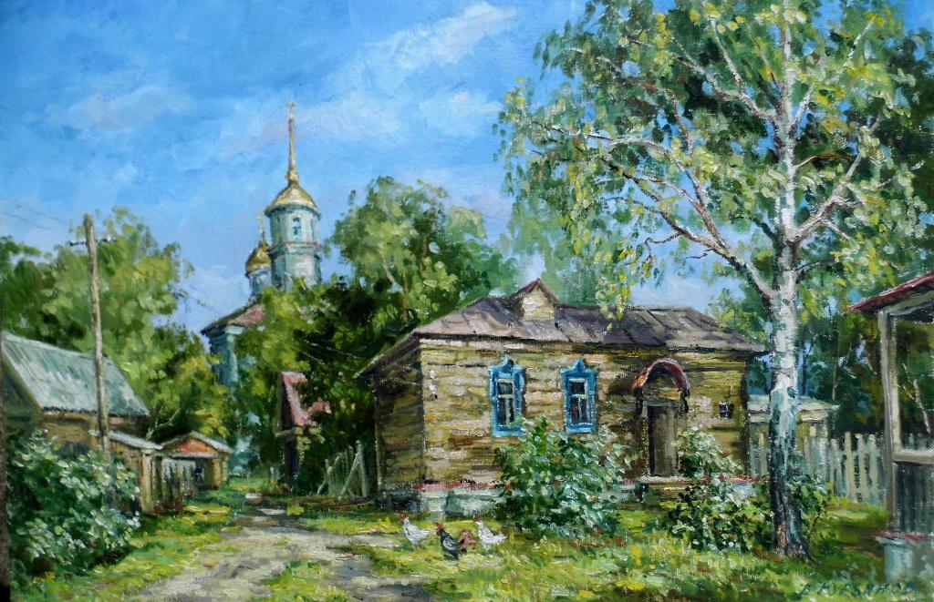 Victor Vladimirovich Kuryanov. Quiet street