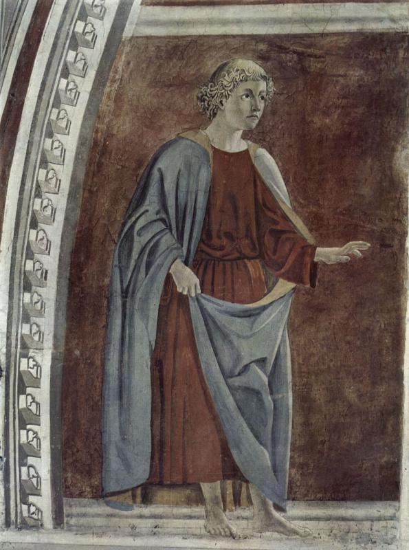 Пьеро делла Франческа. Пророк Иеремия