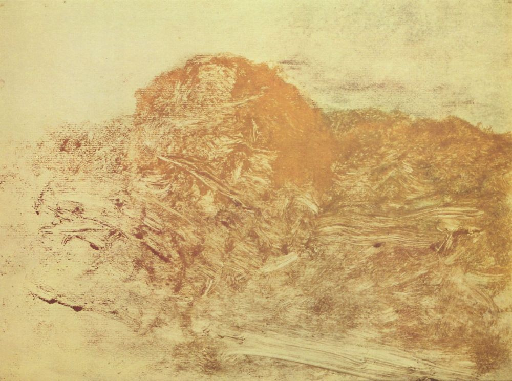 Edgar Degas. Light in the mountains