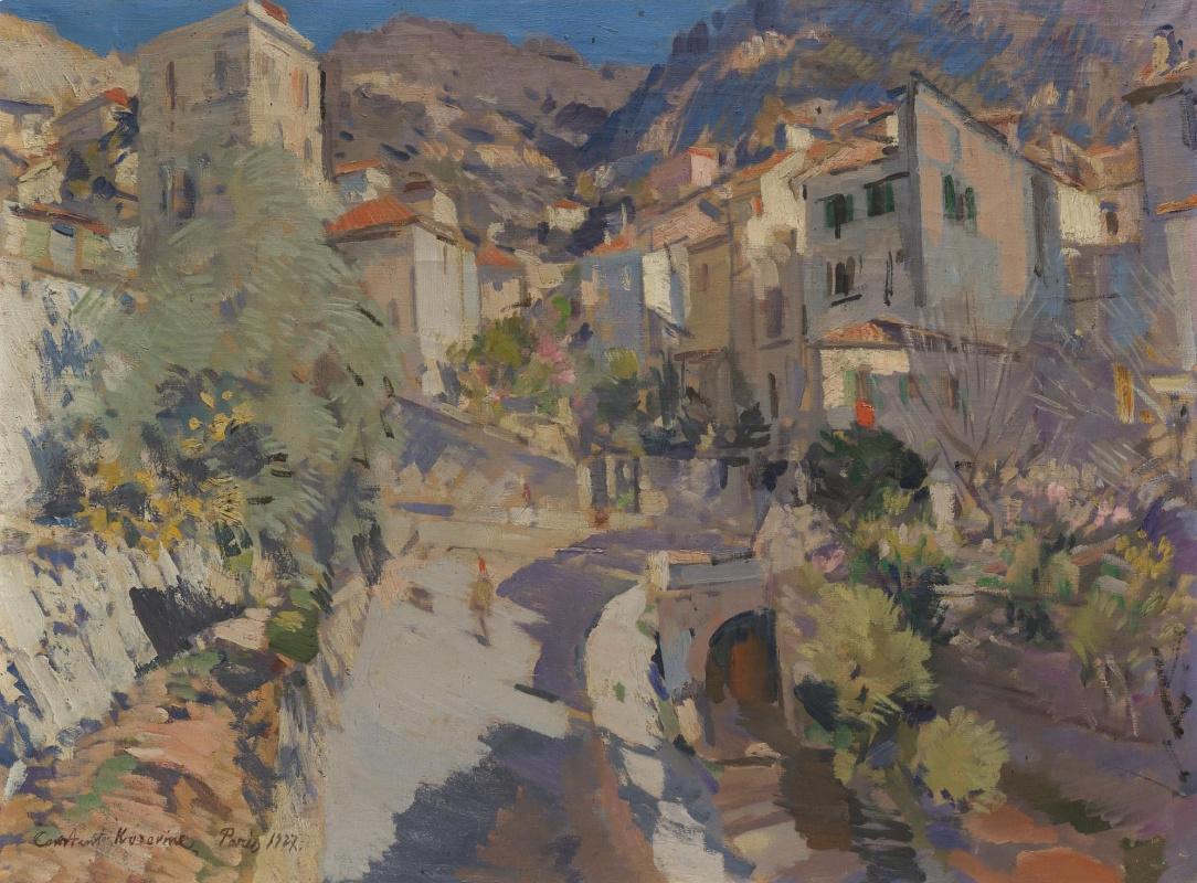 Konstantin Korovin. In the vicinity of Nice