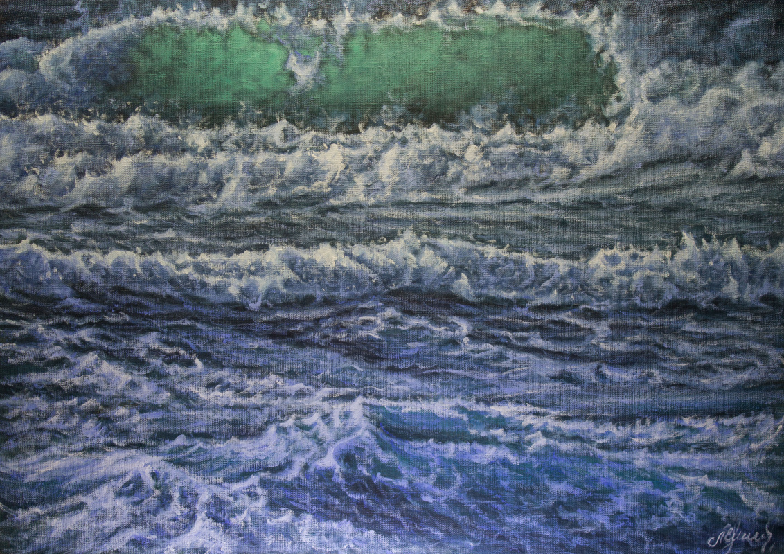 Valery Levchenko. № 582 Seascape.