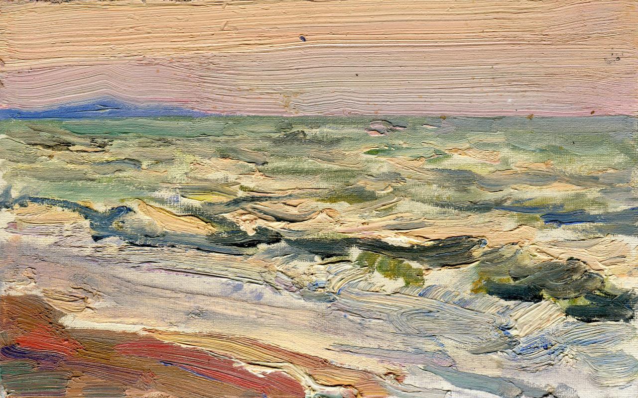 "Vasily Fadeevich Demin. Study ""Waves"""