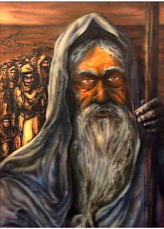 Zeav Gorin. Моисей