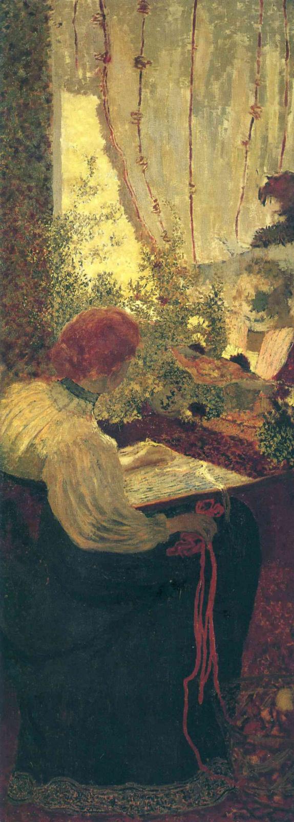 Jean Edouard Vuillard. Embroidery