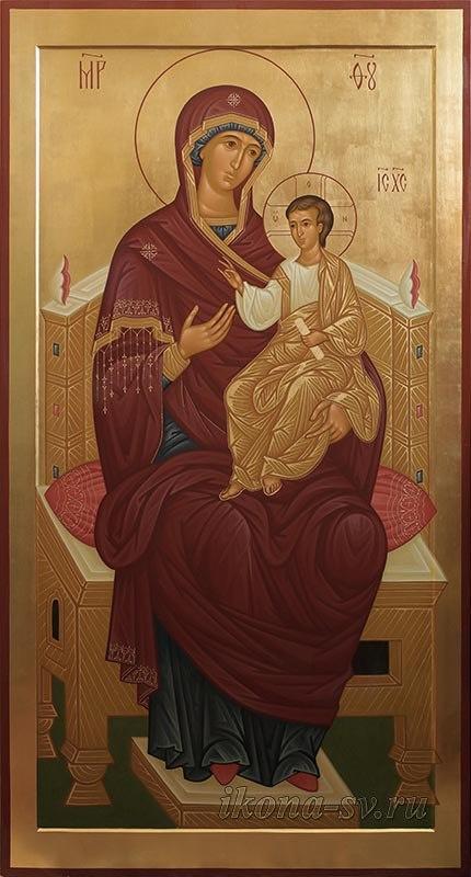 Виктория Викторовна Сорокина. Божия Матерь на троне