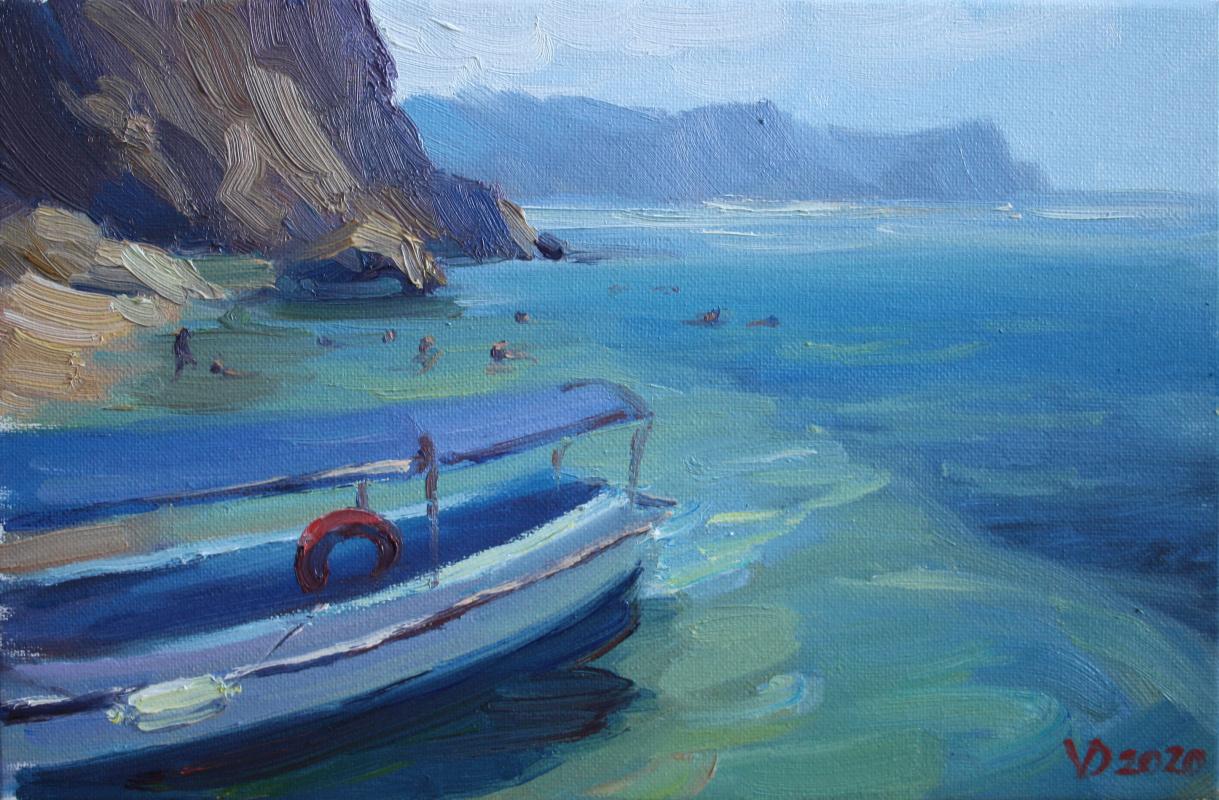 Violetta Dudnikova. Turquoise