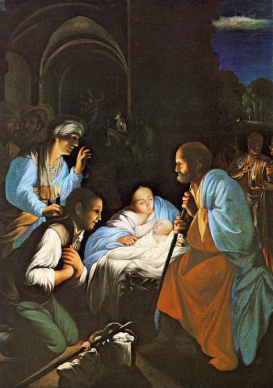 Карло Сарачени. Рождение Христа