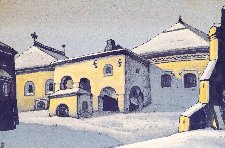 Nicholas Roerich. Ancient Pskov