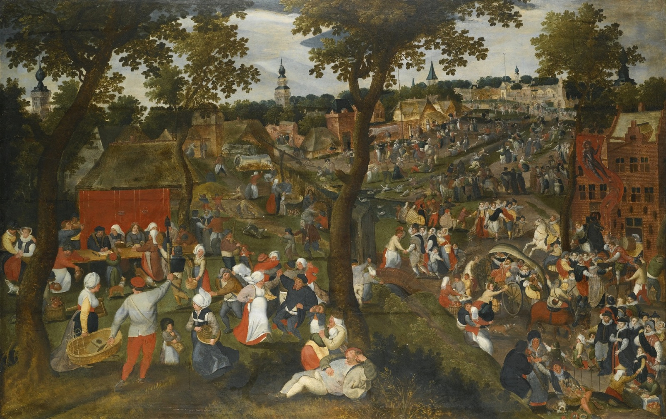 Kermessa saint sebastian by Martin van Cleve: History, Analysis ...