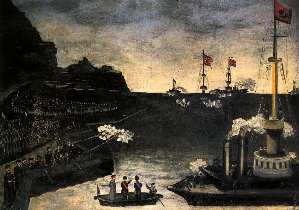 Нико Пиросмани (Пиросманашвили). Русско-японская война