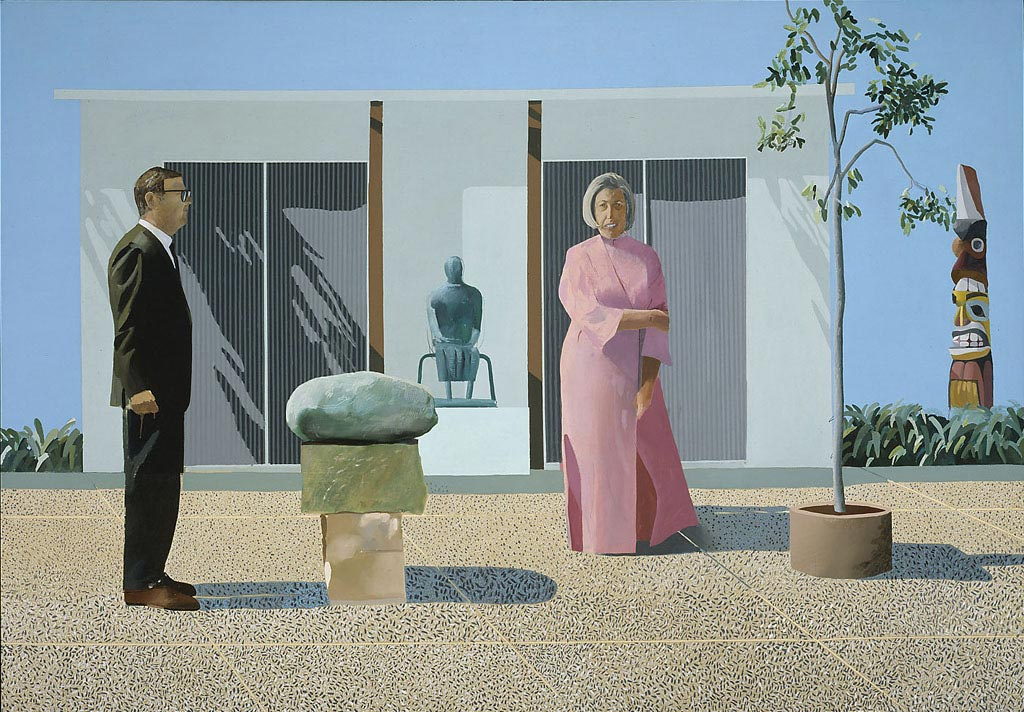 David Hockney. American collectors