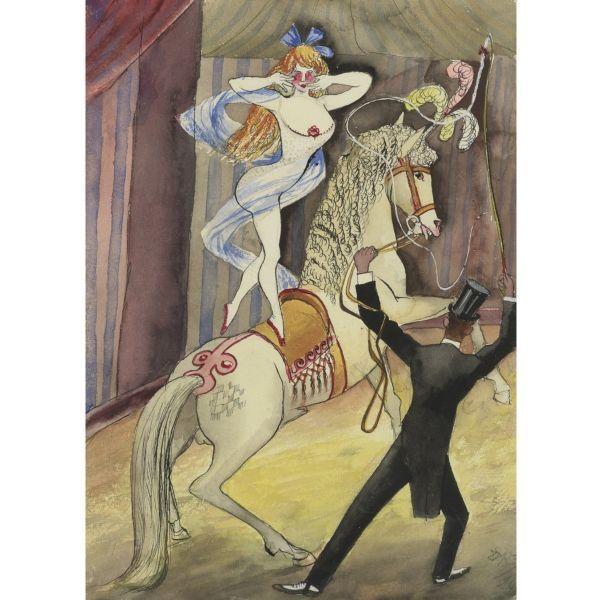 Otto Dix. Riding Scene