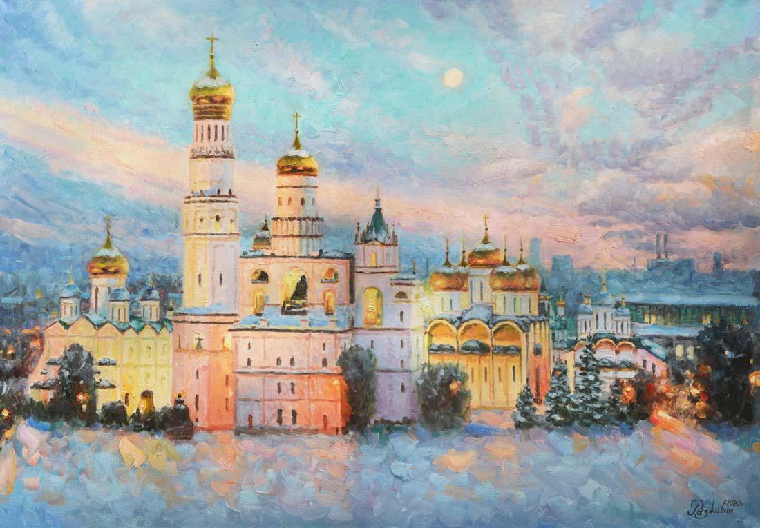 Igor Razzhivin. Frosty beauty of the Kremlin