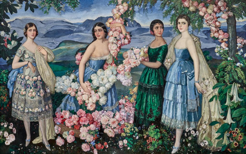 Alfredo Ramos Martinez. Mexican flowers