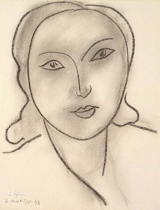 Анри Матисс. Женская голова