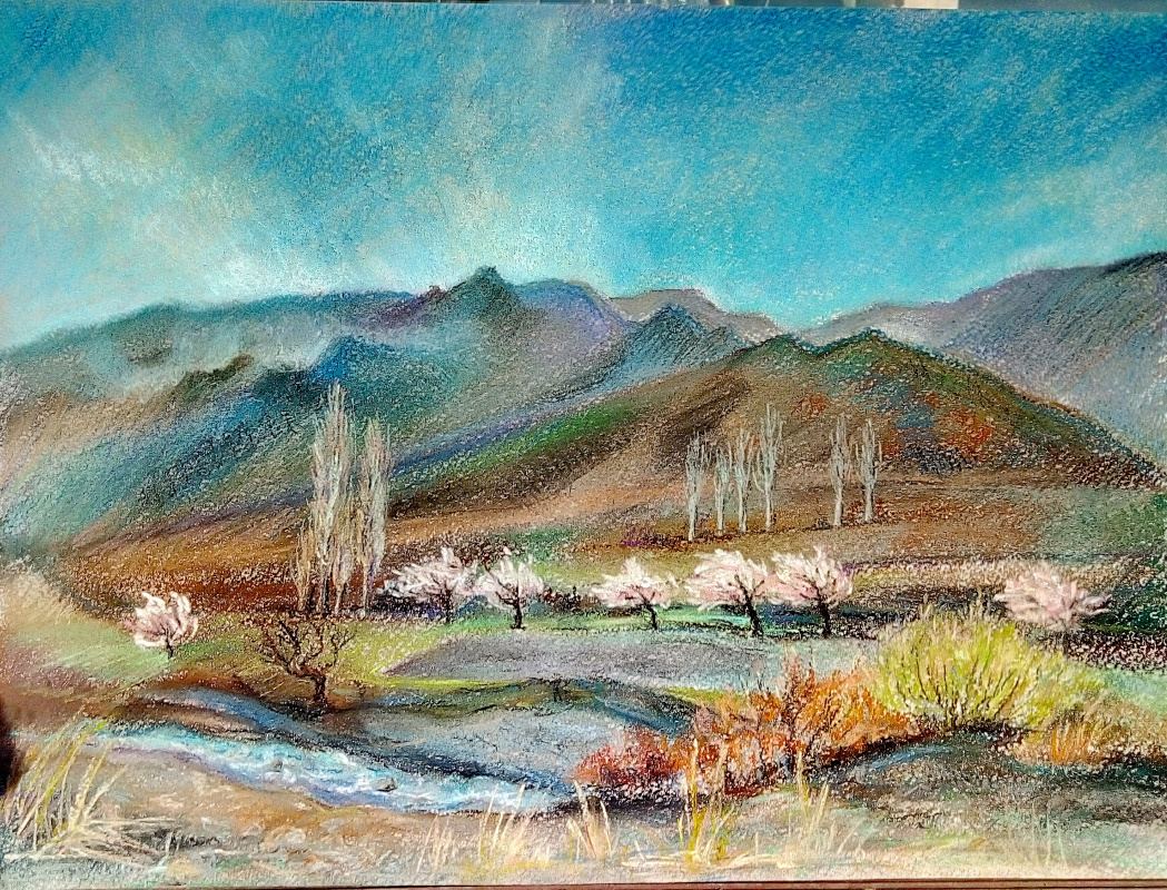 Ельчина Л.. Весна в Таджикистане