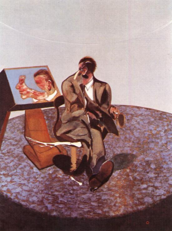 Фрэнсис Бэкон. Портрет Джорджа Дайера в зеркале