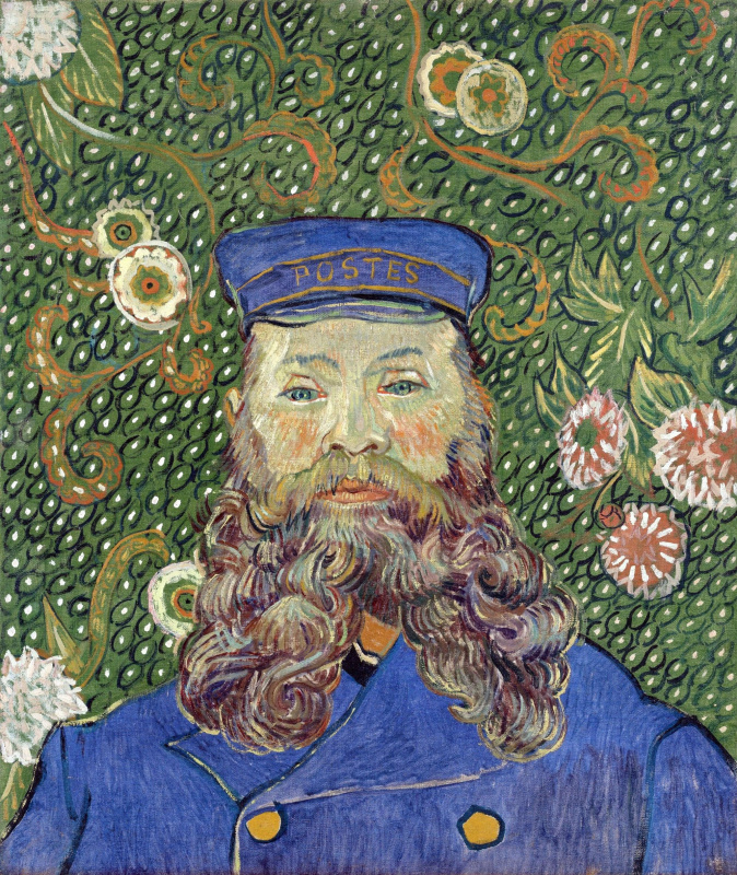 Vincent van Gogh. Portrait of the postman Joseph Roulin
