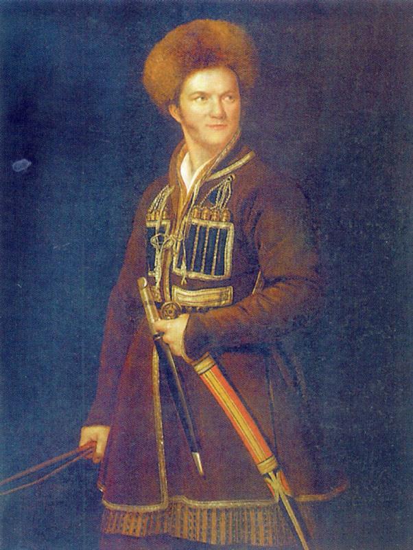 Alexander Osipovich Orel. Self-portrait in Circassian