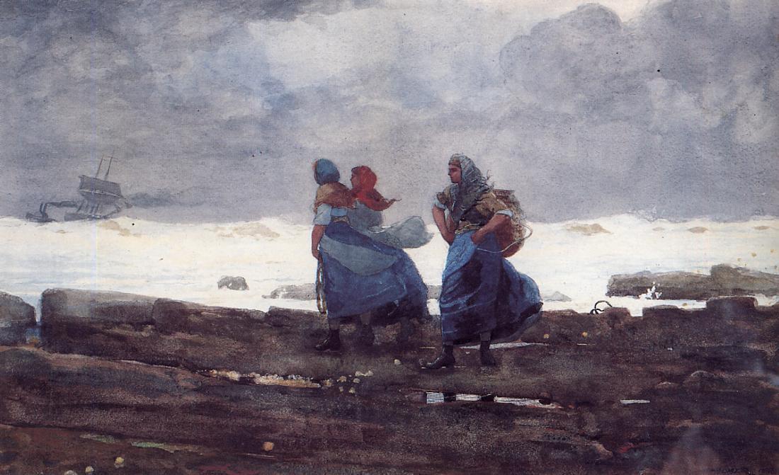 Winslow Homer. Fishwife