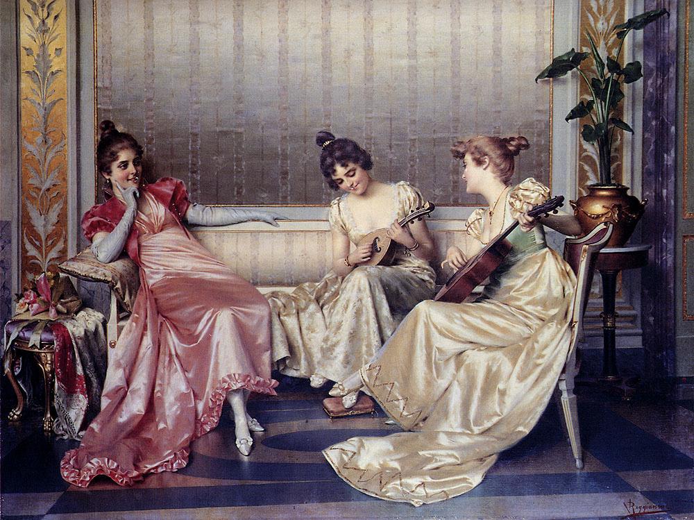 Витторио Реджианини. Три леди