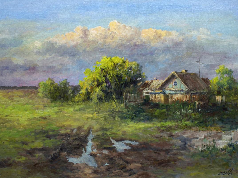 Сергей Владимирович Дорофеев. Вечер после дождя