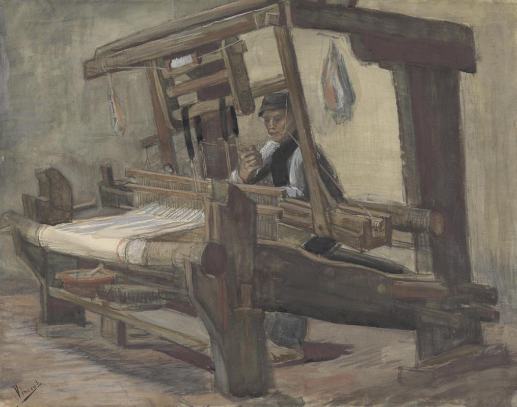 Vincent van Gogh. Weaver
