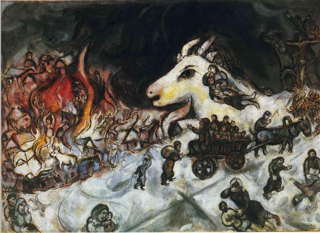 Marc Chagall. War