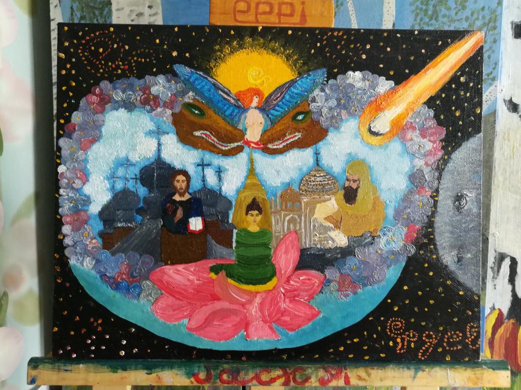 Jack Pigel ee. Three world religions