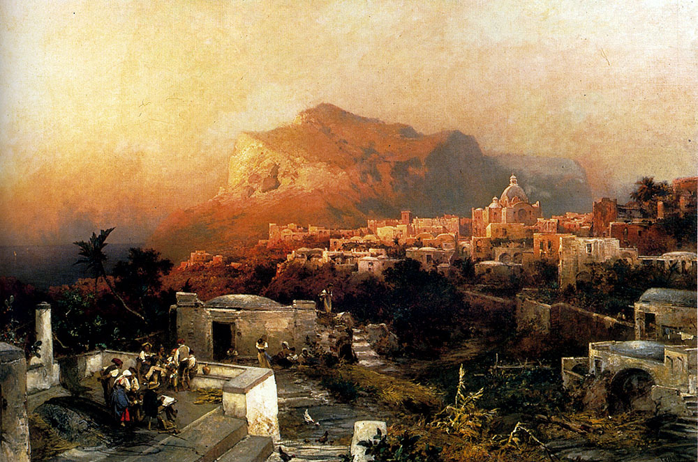Franz Richard Unterberger. Capri