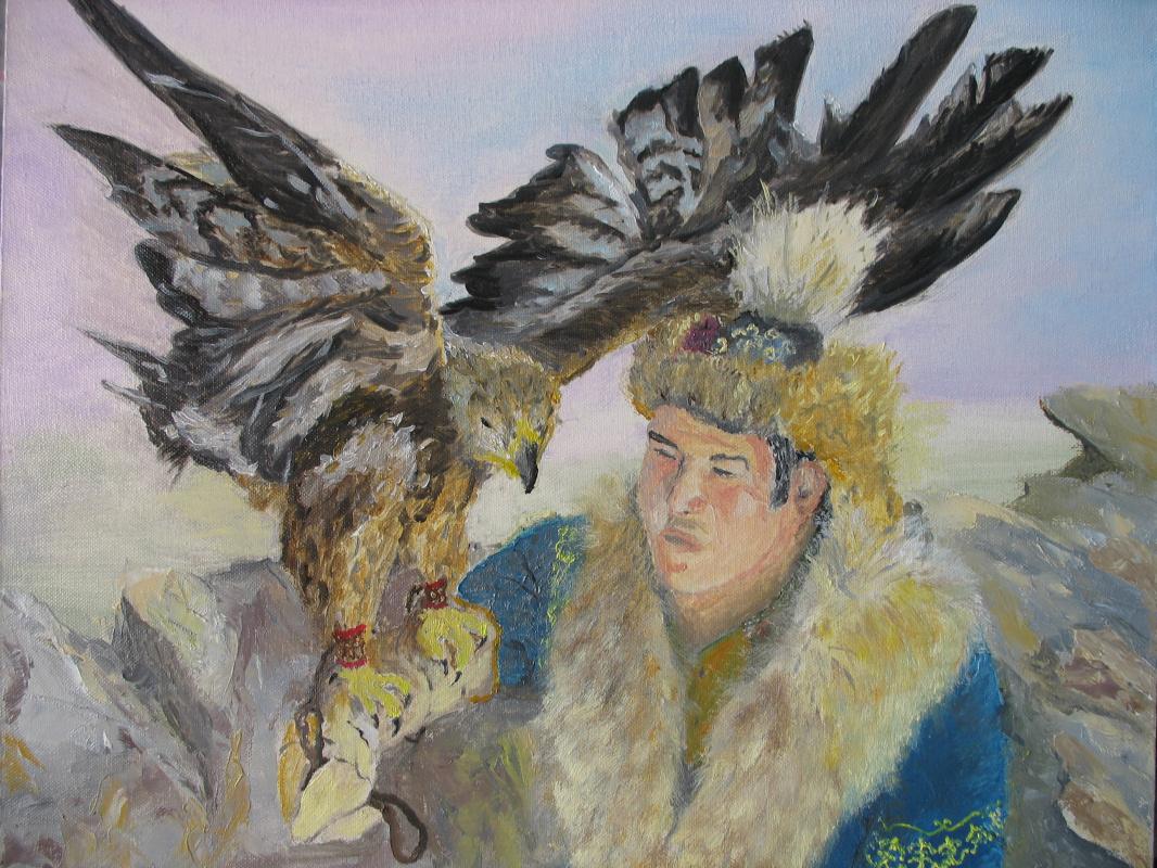 Alexander Valerievich Orlov. Falcon hunting