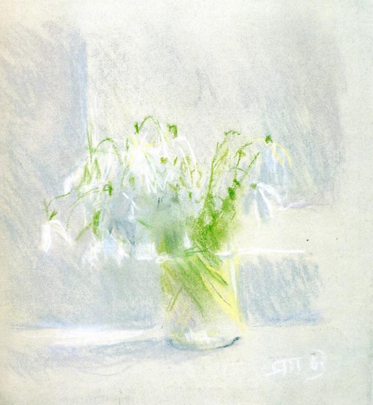 Tetyana Yablonska. Snowdrops