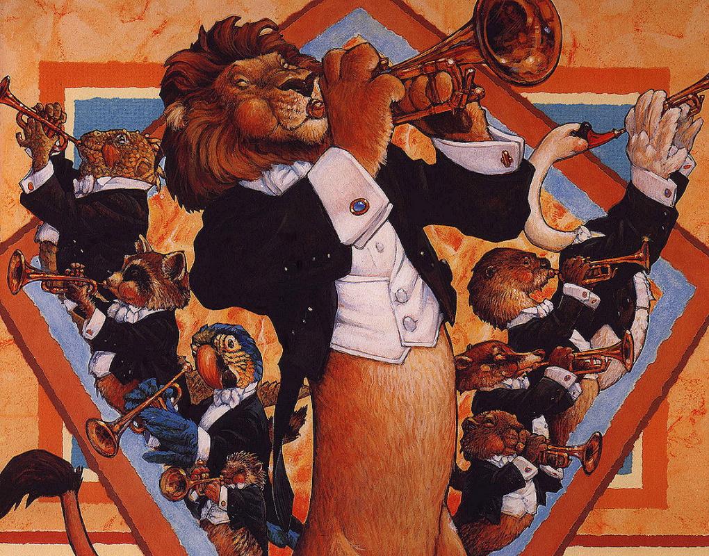 Скотт Густафсон. Оркестр